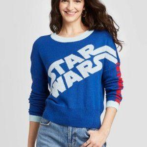 Star Wars Crewneck Graphic Sweater
